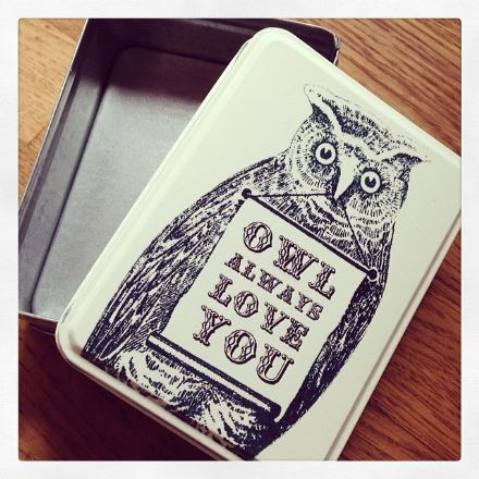 50% OFF Tin - Owl Always Love You